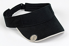 VISOR WITH MAGNET AND BALL MARKER
